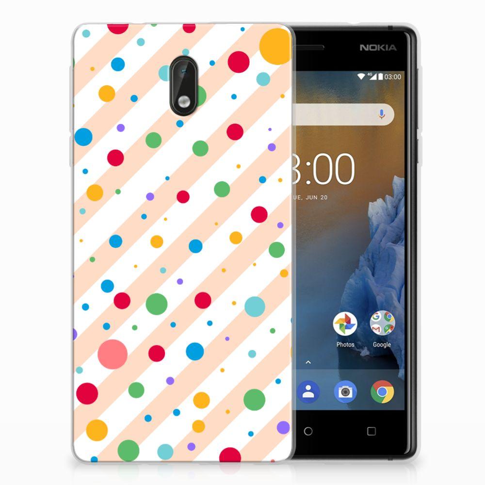 Nokia 3 TPU Hoesje Design Dots