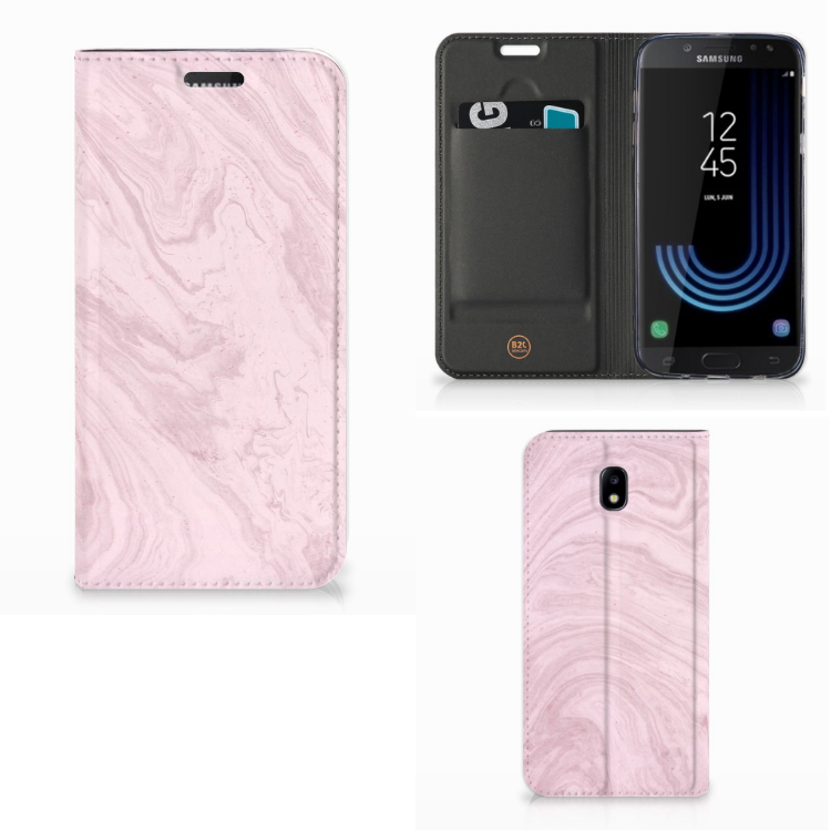 Samsung Galaxy J5 2017 Standcase Marble Pink