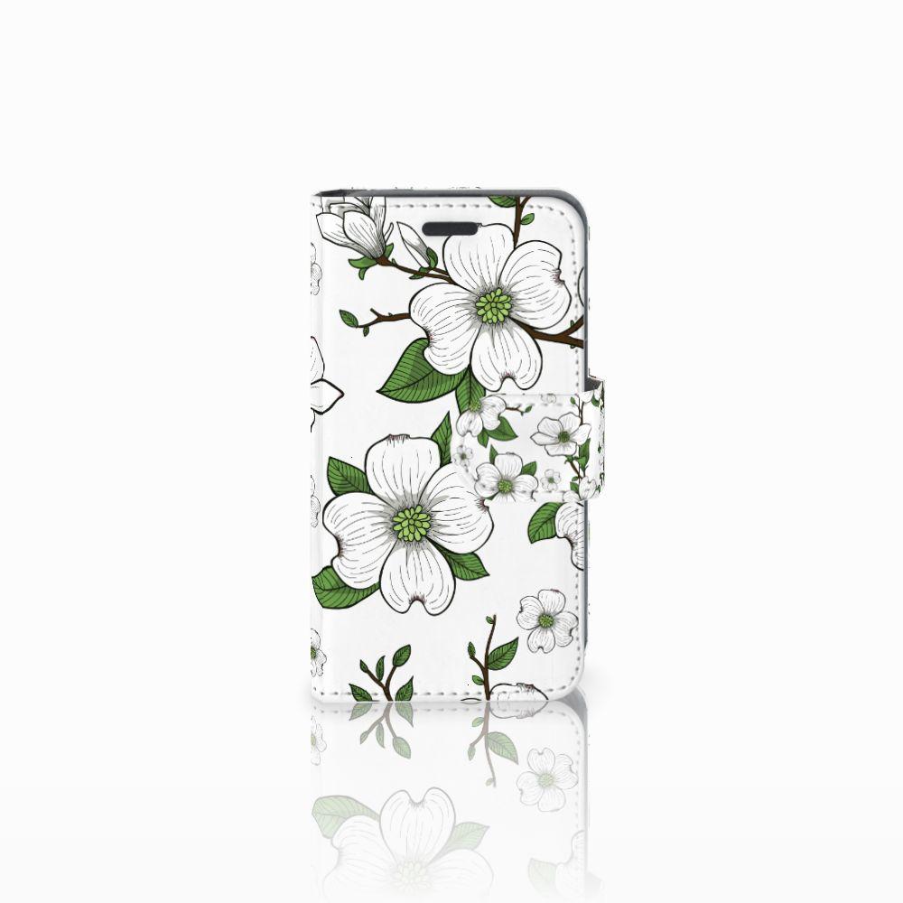 Nokia Lumia 520 Boekhoesje Design Dogwood Flowers
