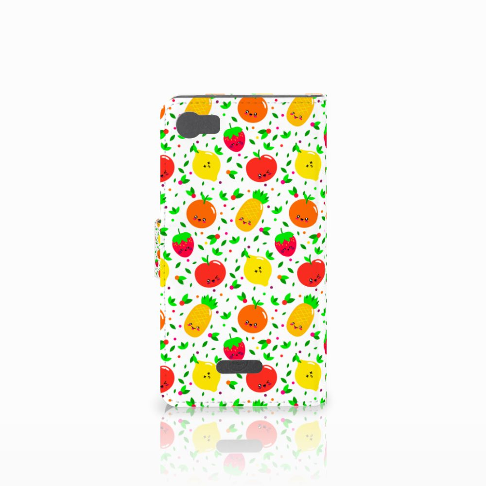 Wiko Fever (4G) Book Cover Fruits