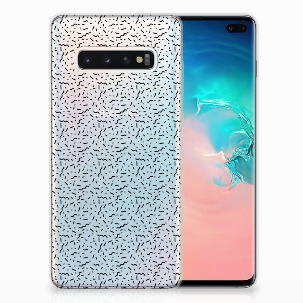 Samsung Galaxy S10 Plus TPU bumper Stripes Dots