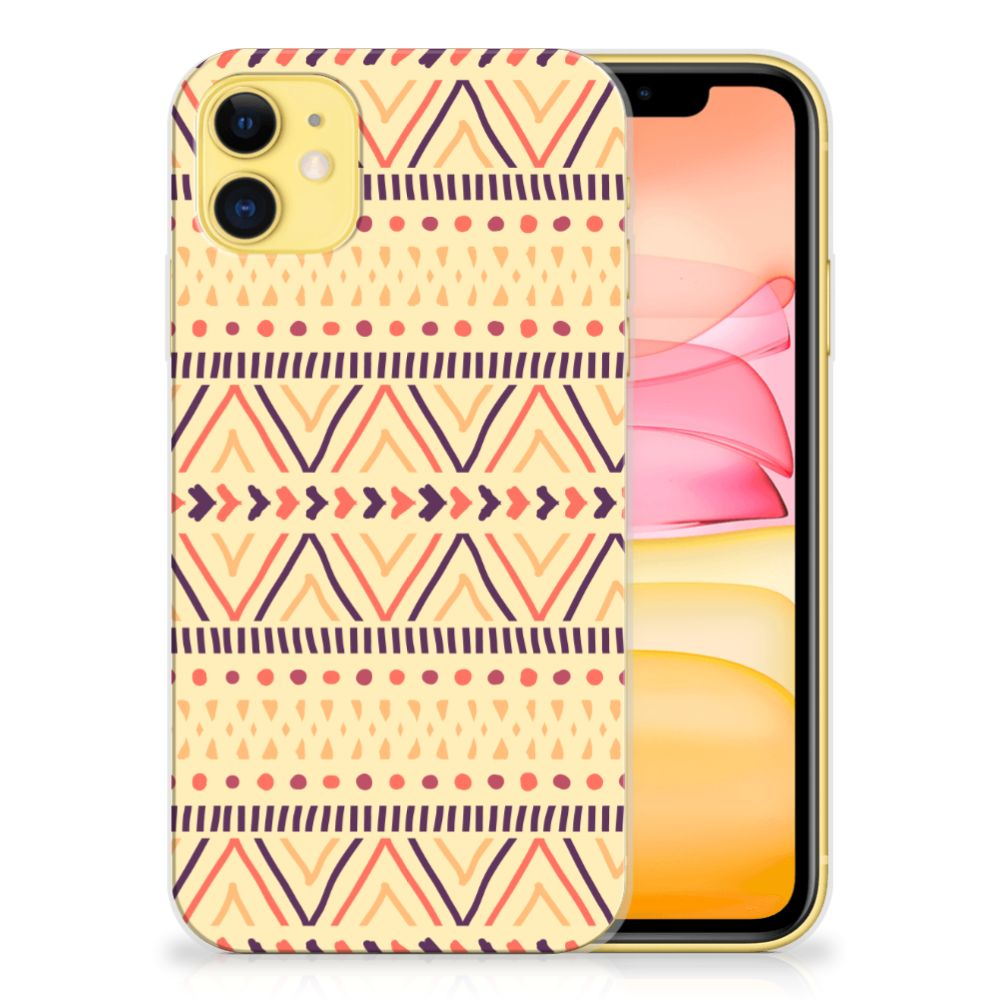 Apple iPhone 11 TPU bumper Aztec Yellow