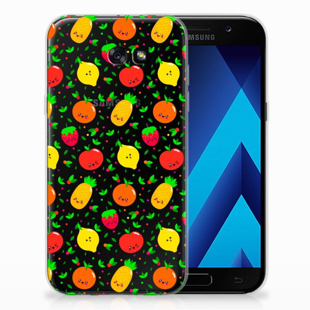 Samsung Galaxy A7 2017 TPU Hoesje Design Fruits