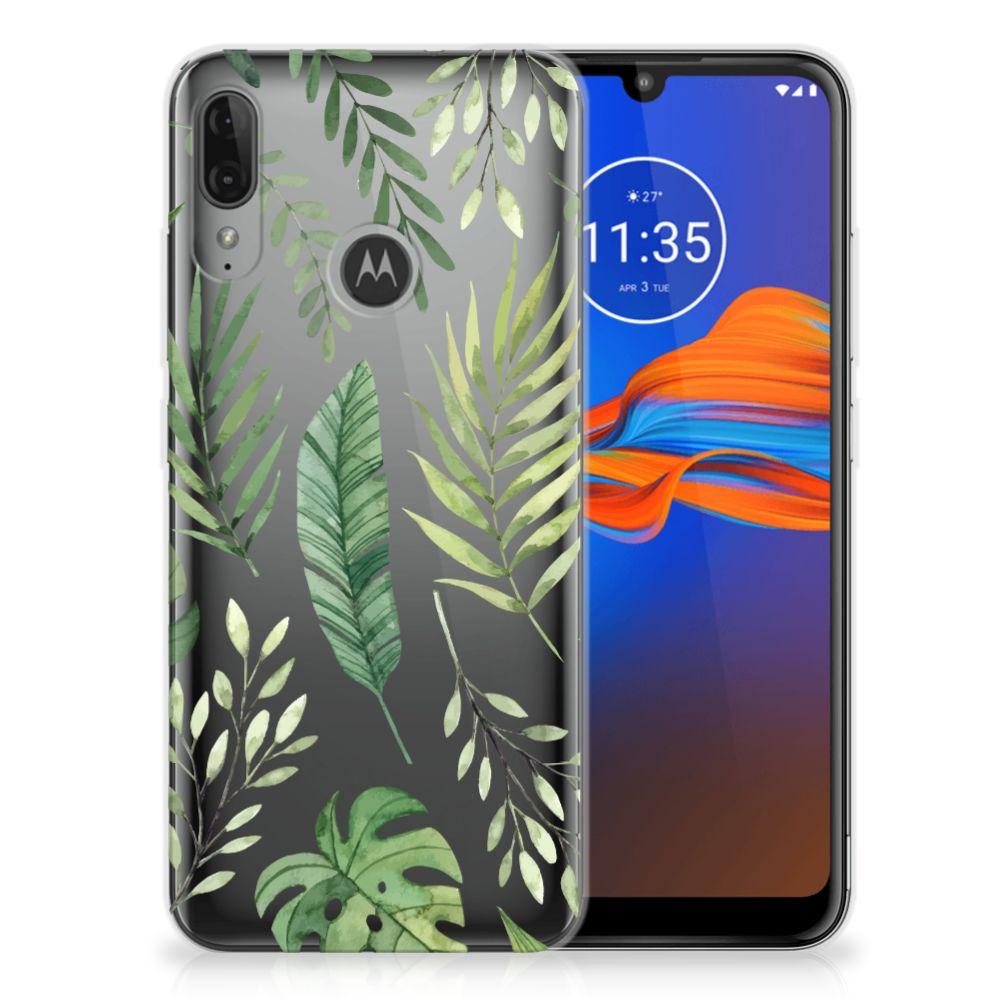 Motorola Moto E6 Plus TPU Case Leaves