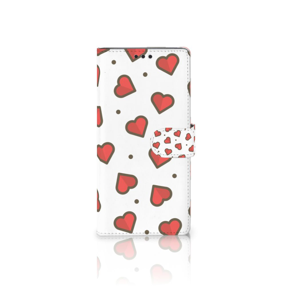 Sony Xperia XA Ultra Boekhoesje Design Hearts