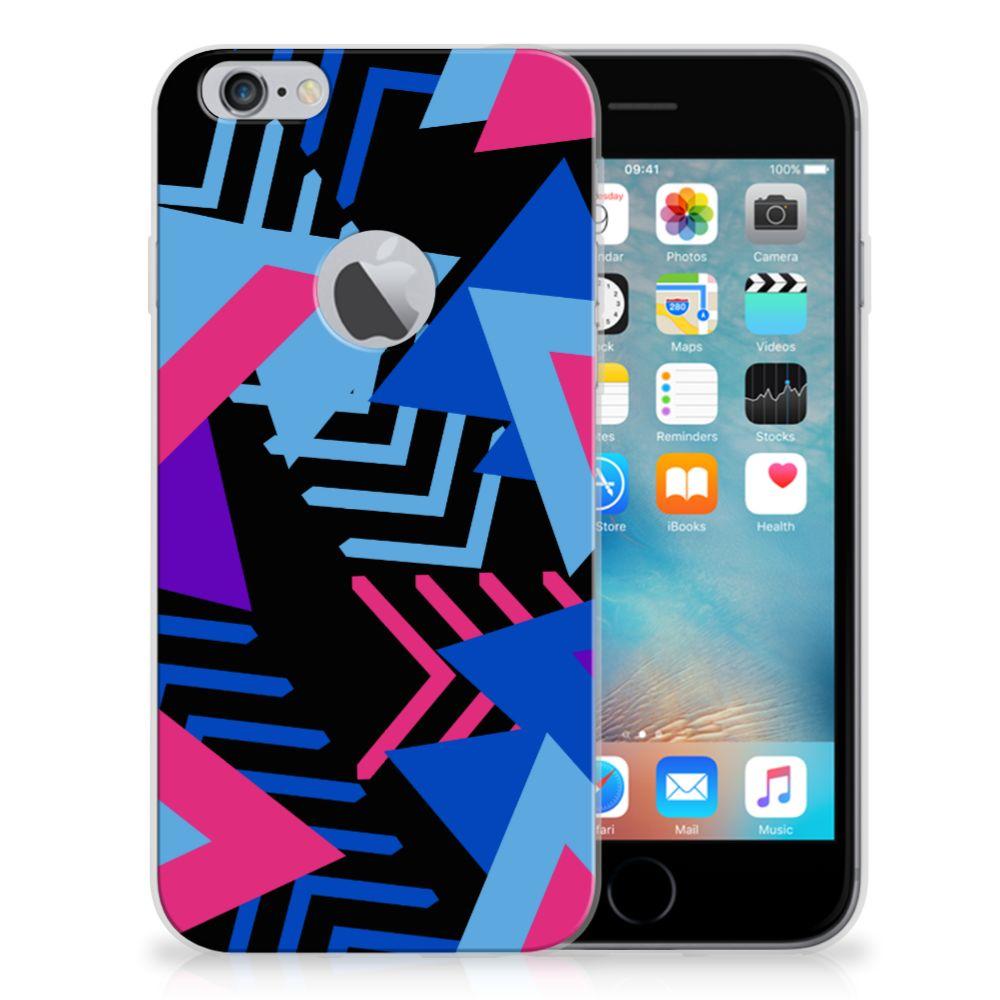 Apple iPhone 6 Plus | 6s Plus TPU Hoesje Funky Triangle