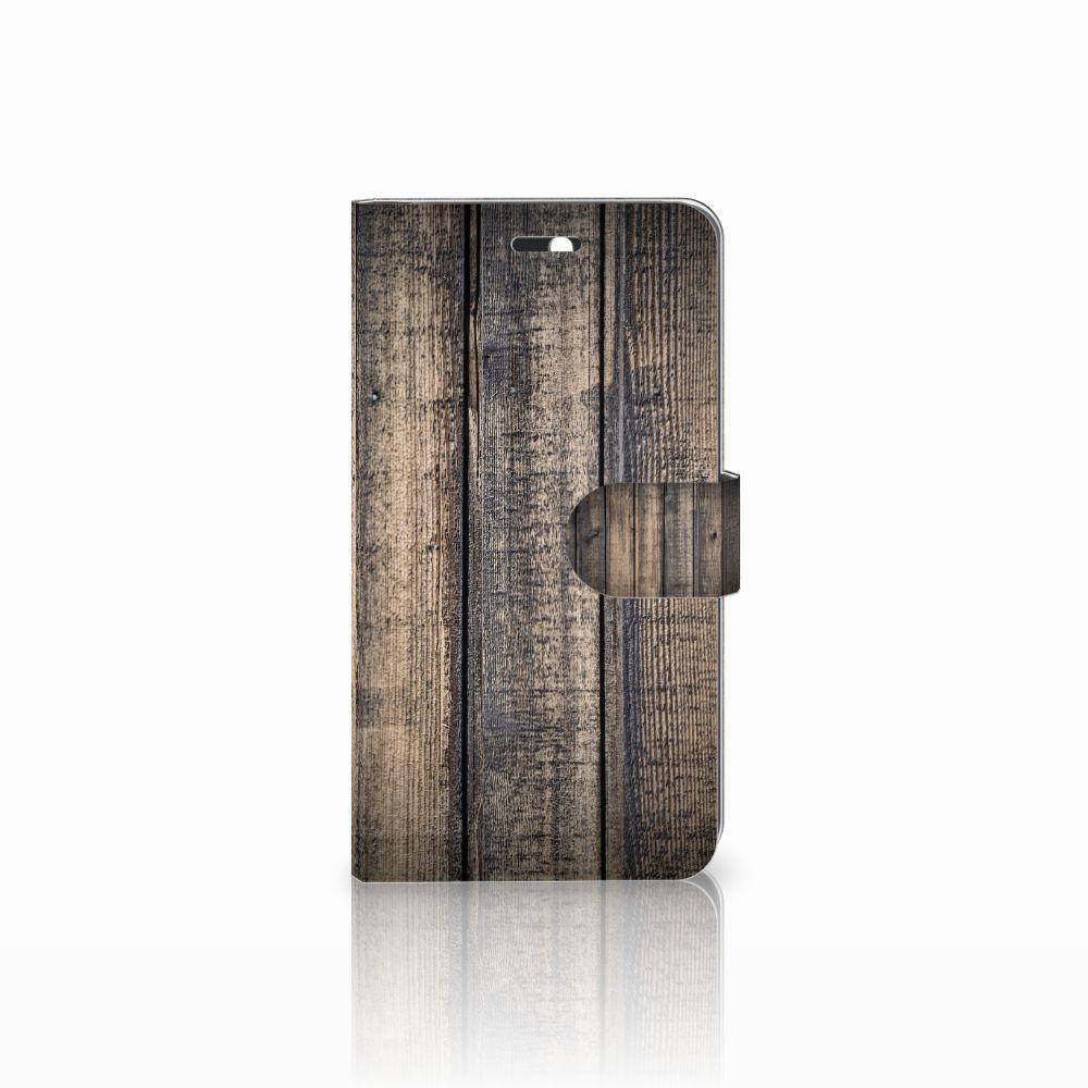 Huawei Y6 II | Honor 5A Boekhoesje Design Steigerhout