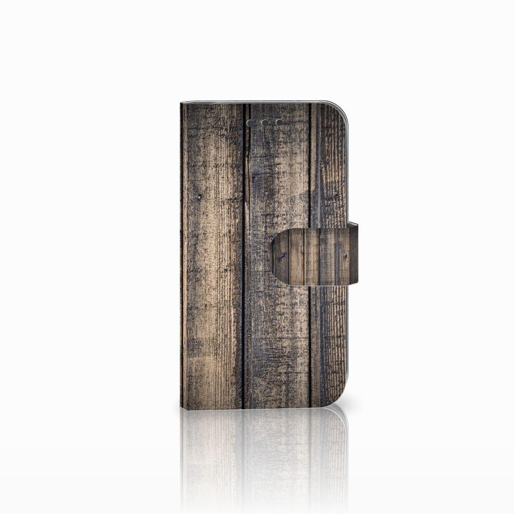 Samsung Galaxy S3 i9300 Boekhoesje Design Steigerhout