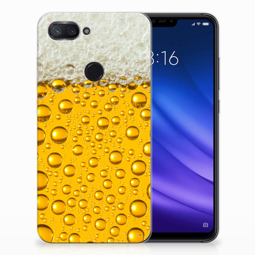 Xiaomi Mi 8 Lite Siliconen Case Bier