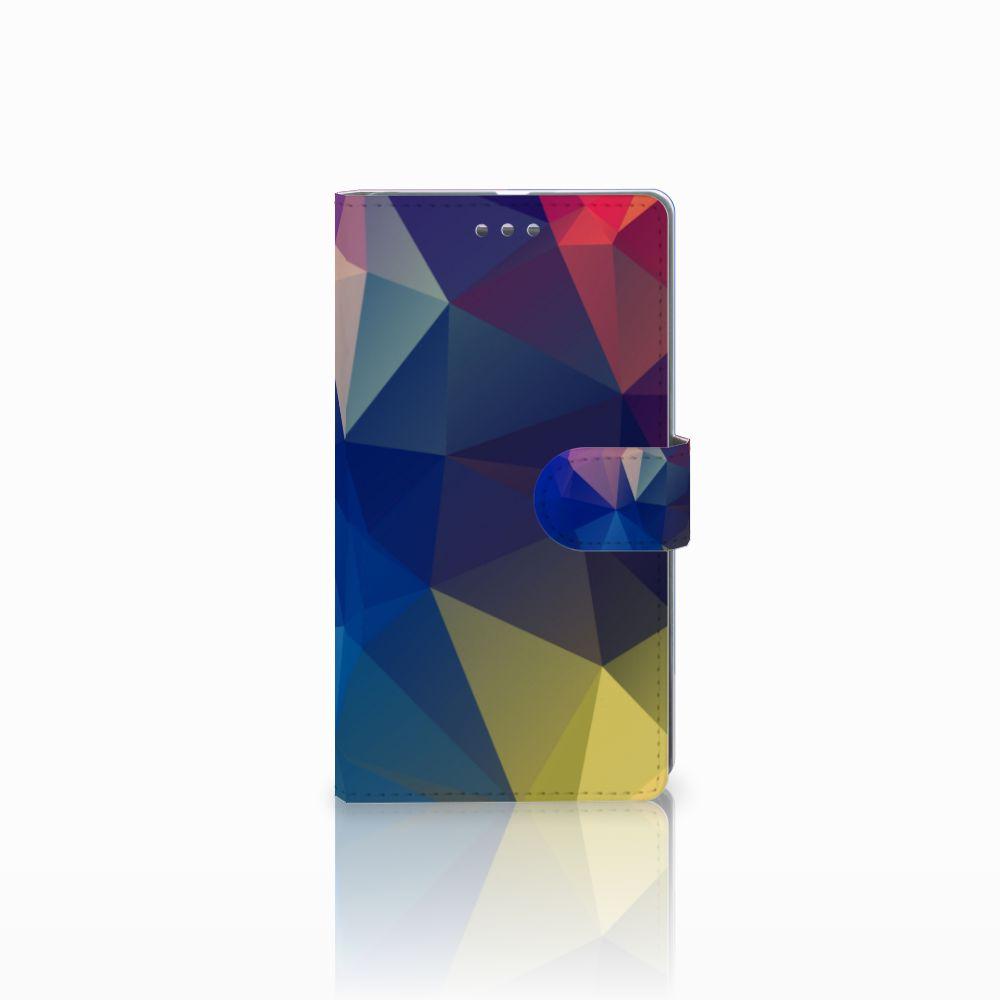 Microsoft Lumia 950 XL Bookcase Polygon Dark