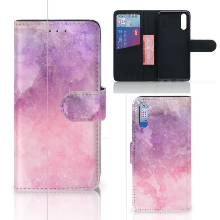 Hoesje Huawei P20 Pink Purple Paint