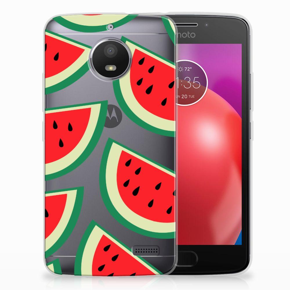 Motorola Moto E4 Siliconen Case Watermelons