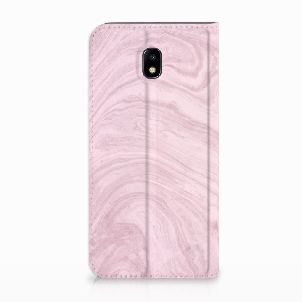 Samsung Galaxy J5 2017 Standcase Hoesje Marble Pink