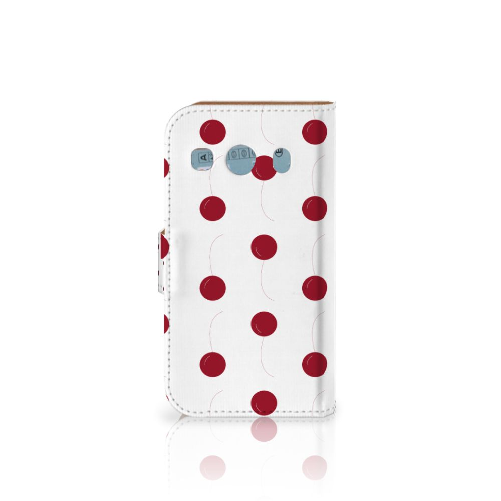 Samsung Galaxy Ace 4 4G (G357-FZ) Book Cover Cherries