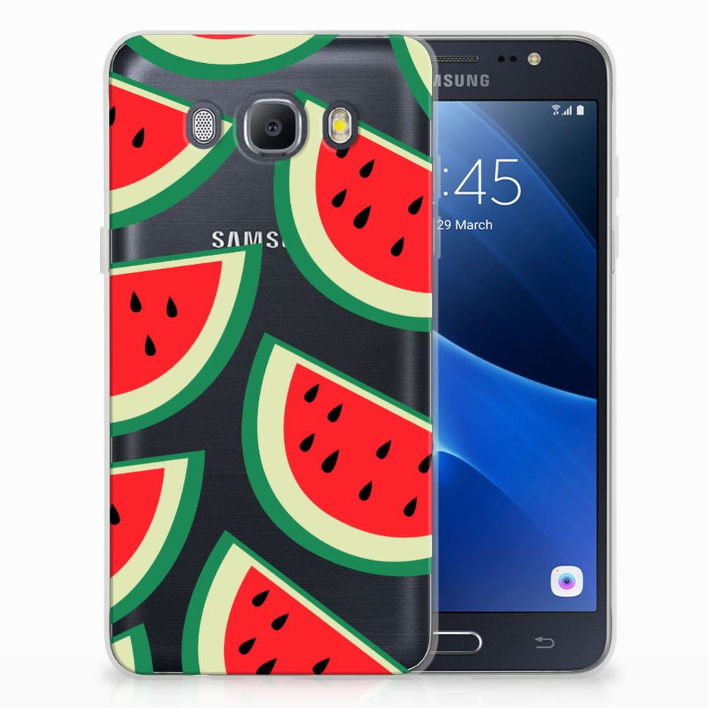 Samsung Galaxy J5 2016 Siliconen Case Watermelons