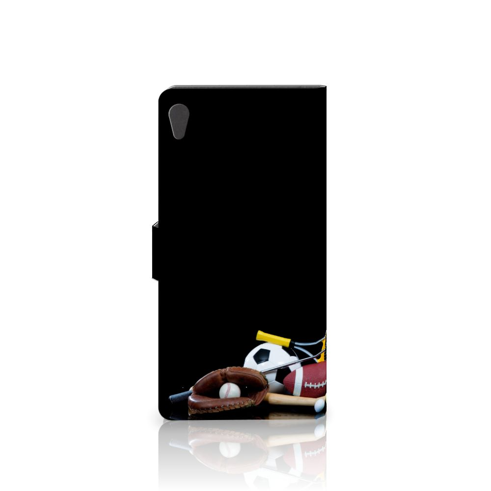 Sony Xperia XA Ultra Wallet Case met Pasjes Sports
