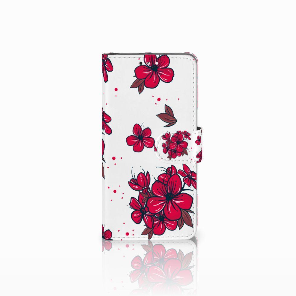 Honor 9 Boekhoesje Design Blossom Red