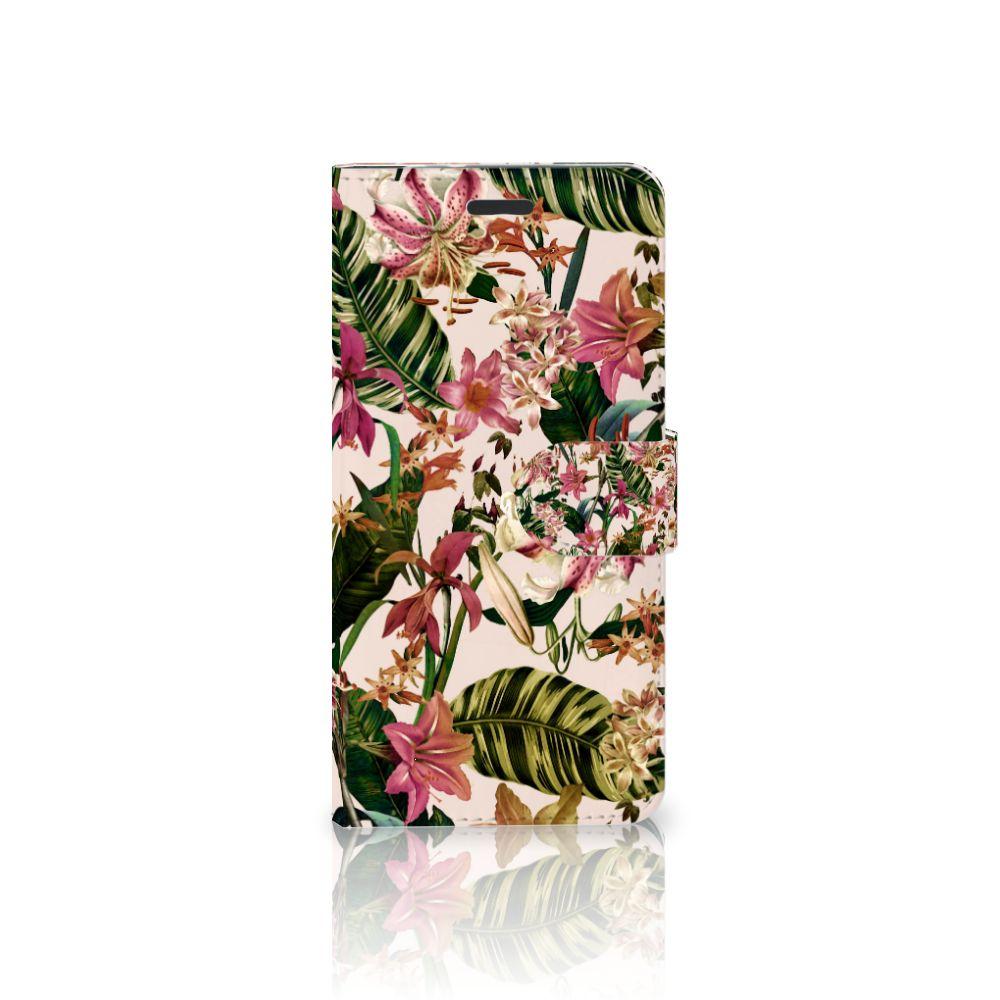 Motorola Moto Z Uniek Boekhoesje Flowers