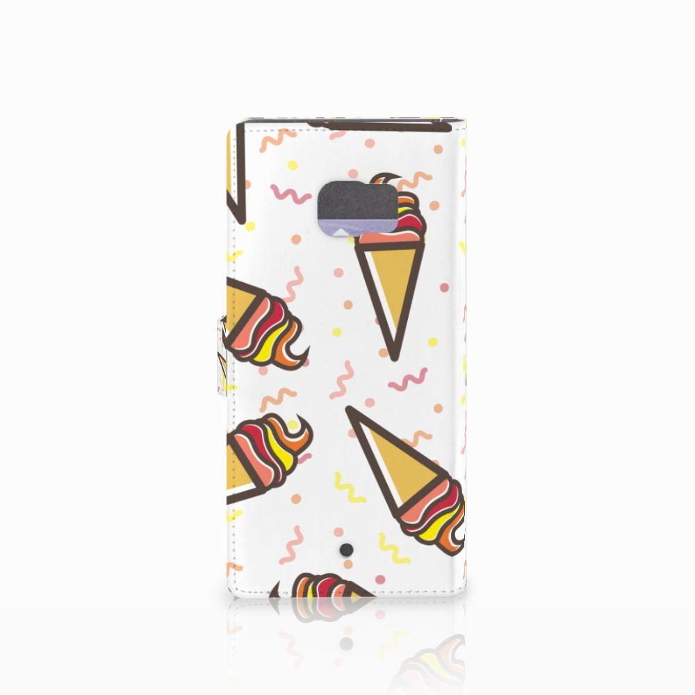 HTC U Ultra Book Cover Icecream