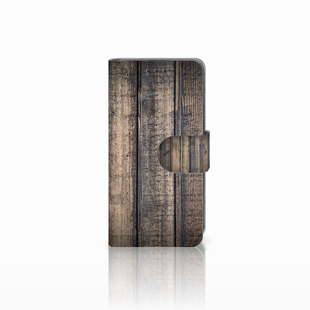 Nokia Lumia 630 Boekhoesje Design Steigerhout