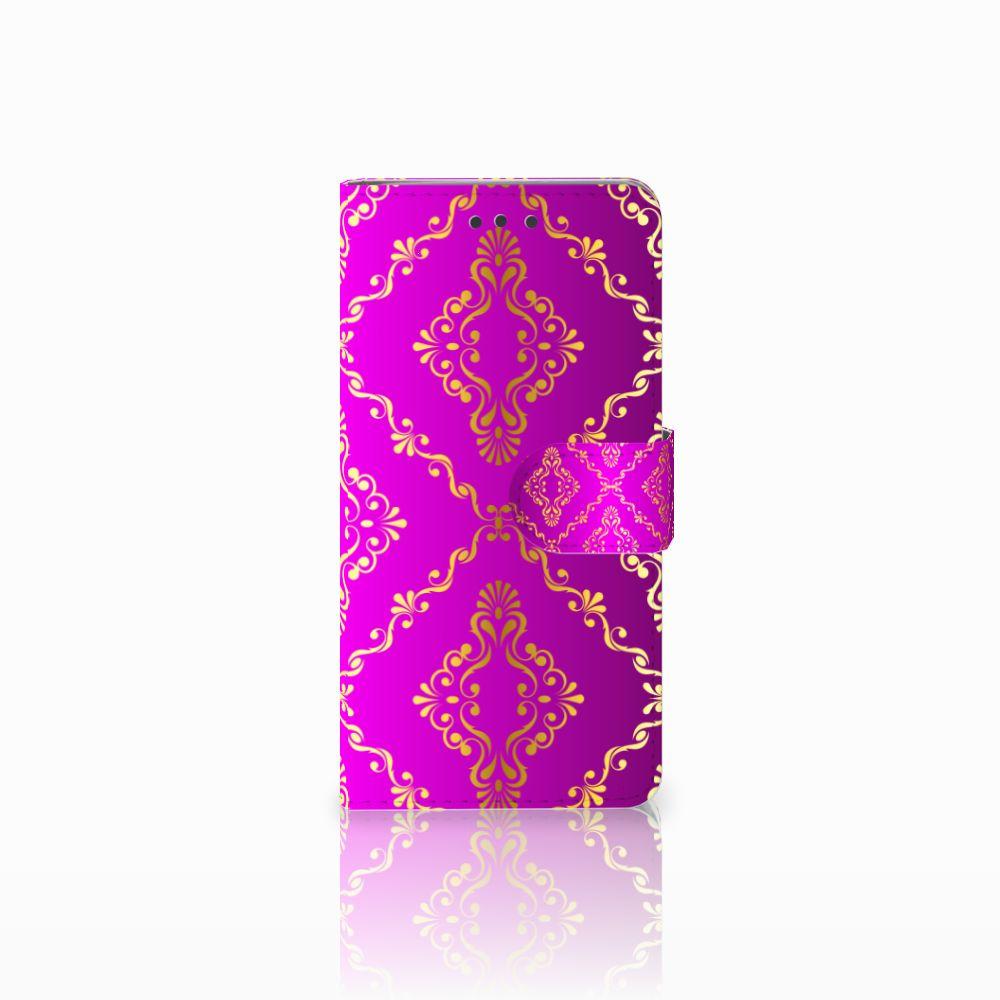 HTC U Play Uniek Boekhoesje Barok Roze