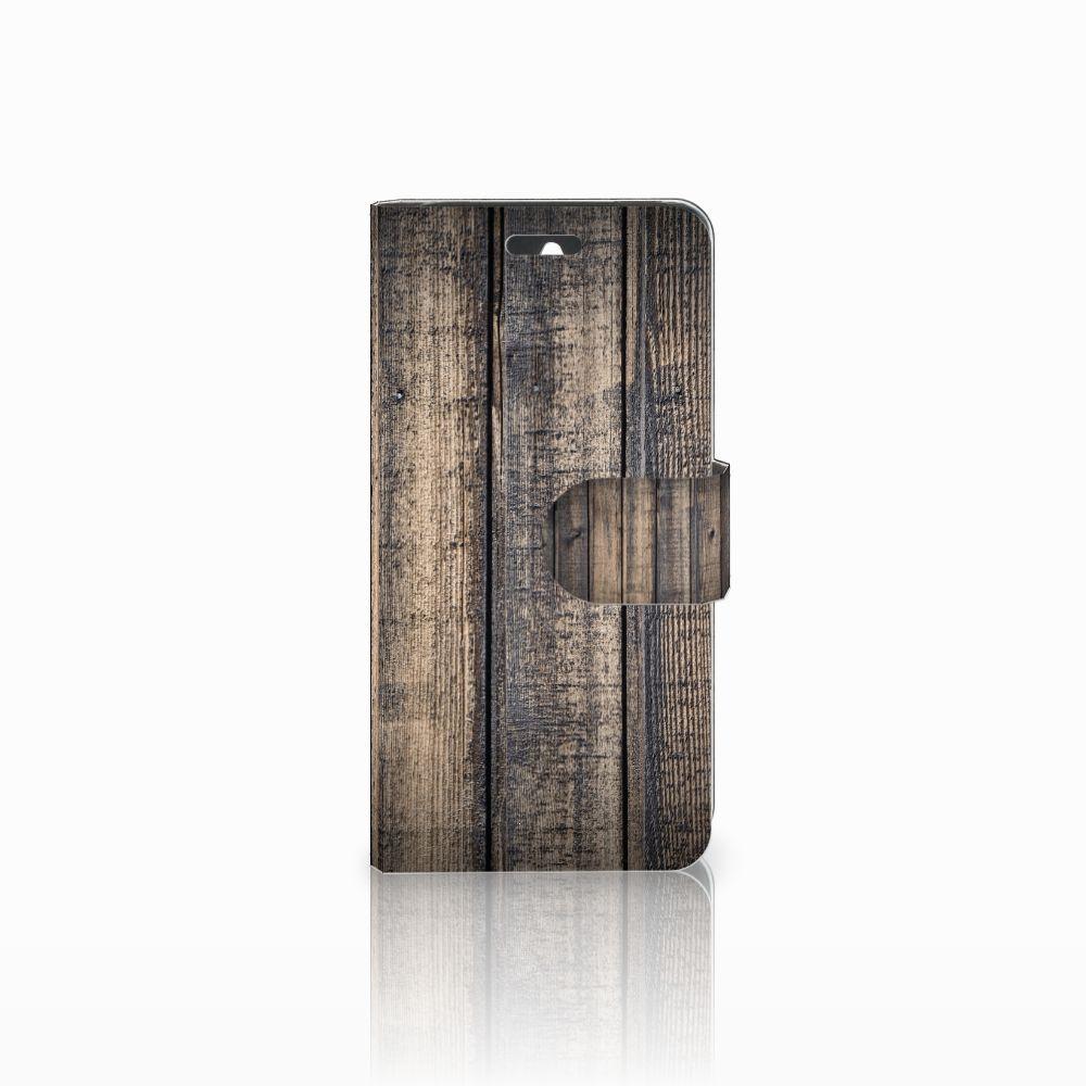 Huawei Ascend Y550 Boekhoesje Design Steigerhout