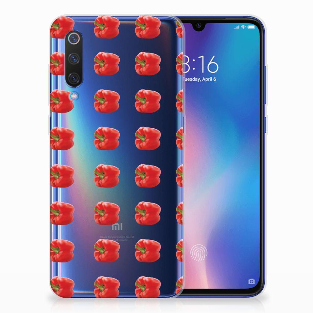 Xiaomi Mi 9 Siliconen Case Paprika Red