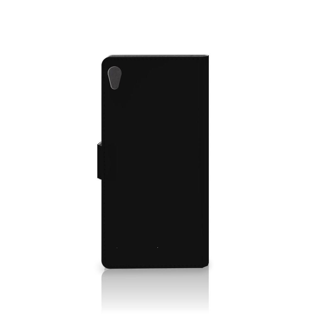 Sony Xperia XA Ultra Wallet Case met Pasjes Popart Princess