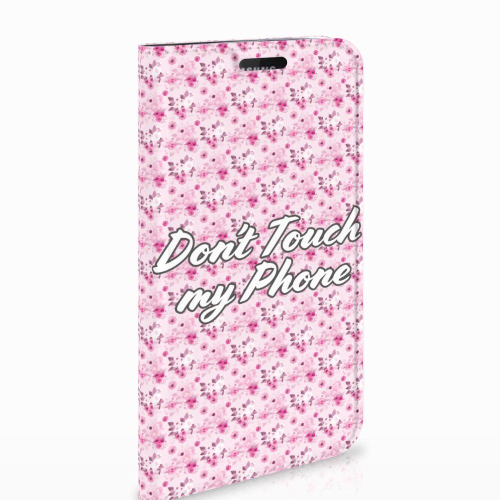 Samsung Galaxy J5 2017 Design Case Flowers Pink DTMP