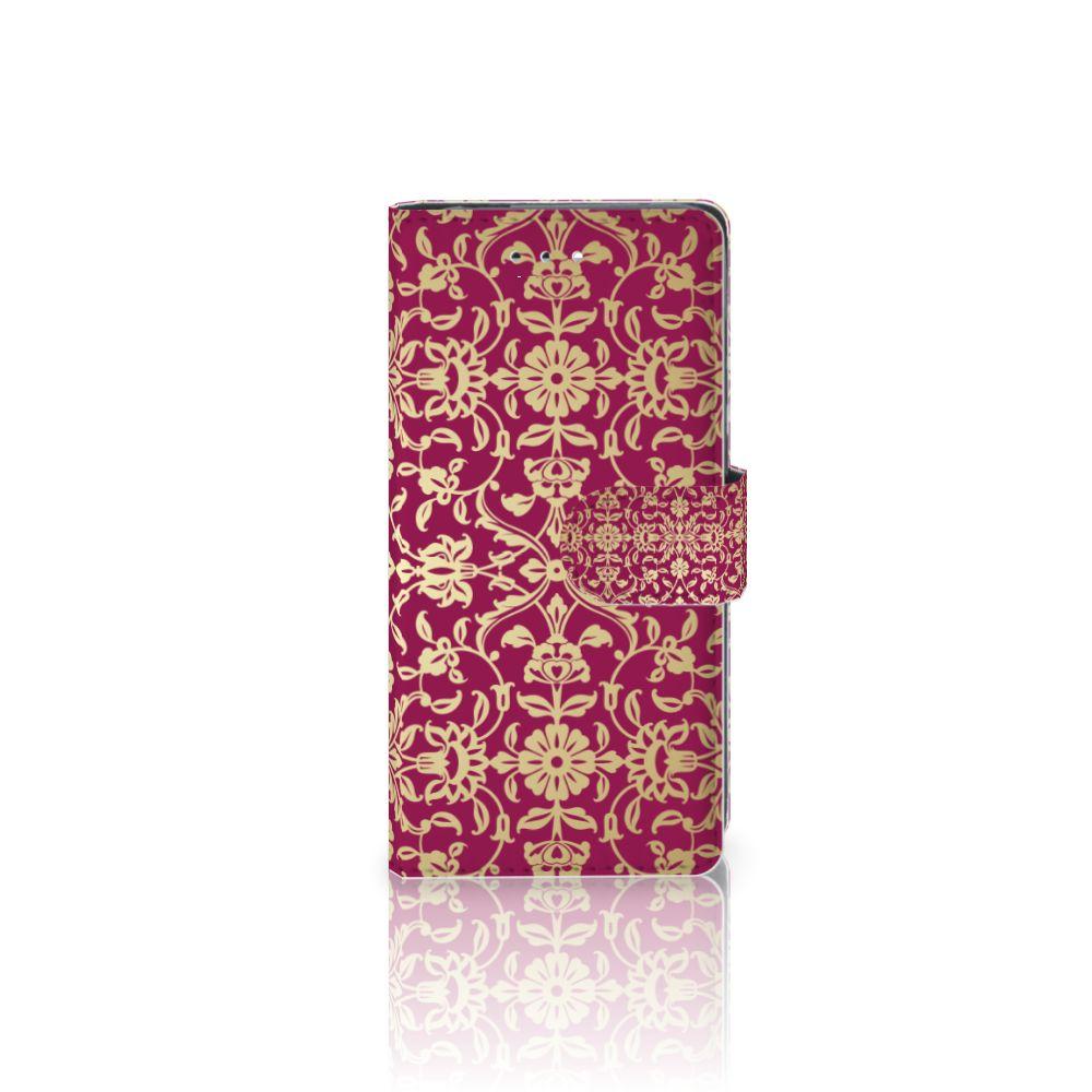 Huawei P9 Boekhoesje Design Barok Pink