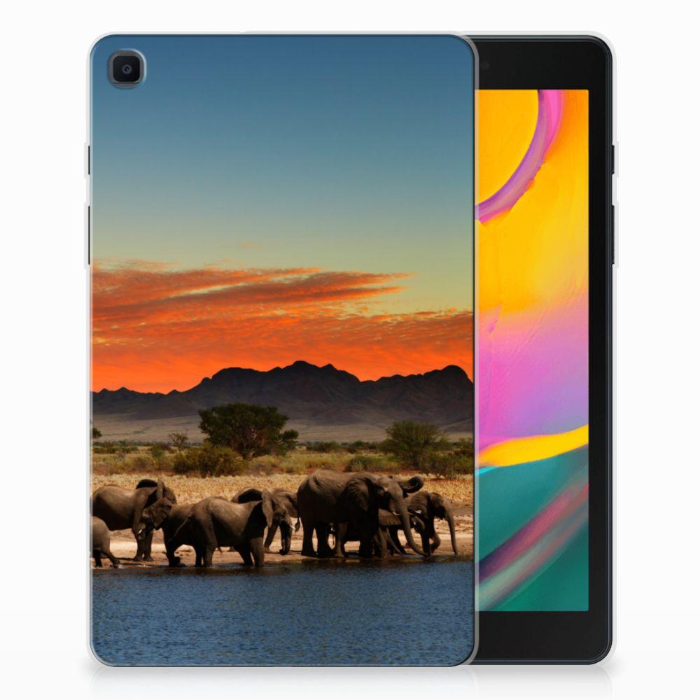 Samsung Galaxy Tab A 8.0 (2019) Back Case Olifanten