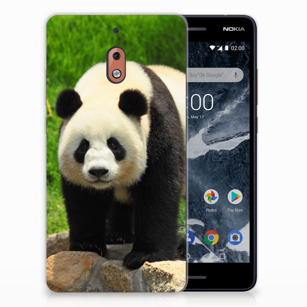 Nokia 2.1 (2018) TPU Hoesje Design Panda