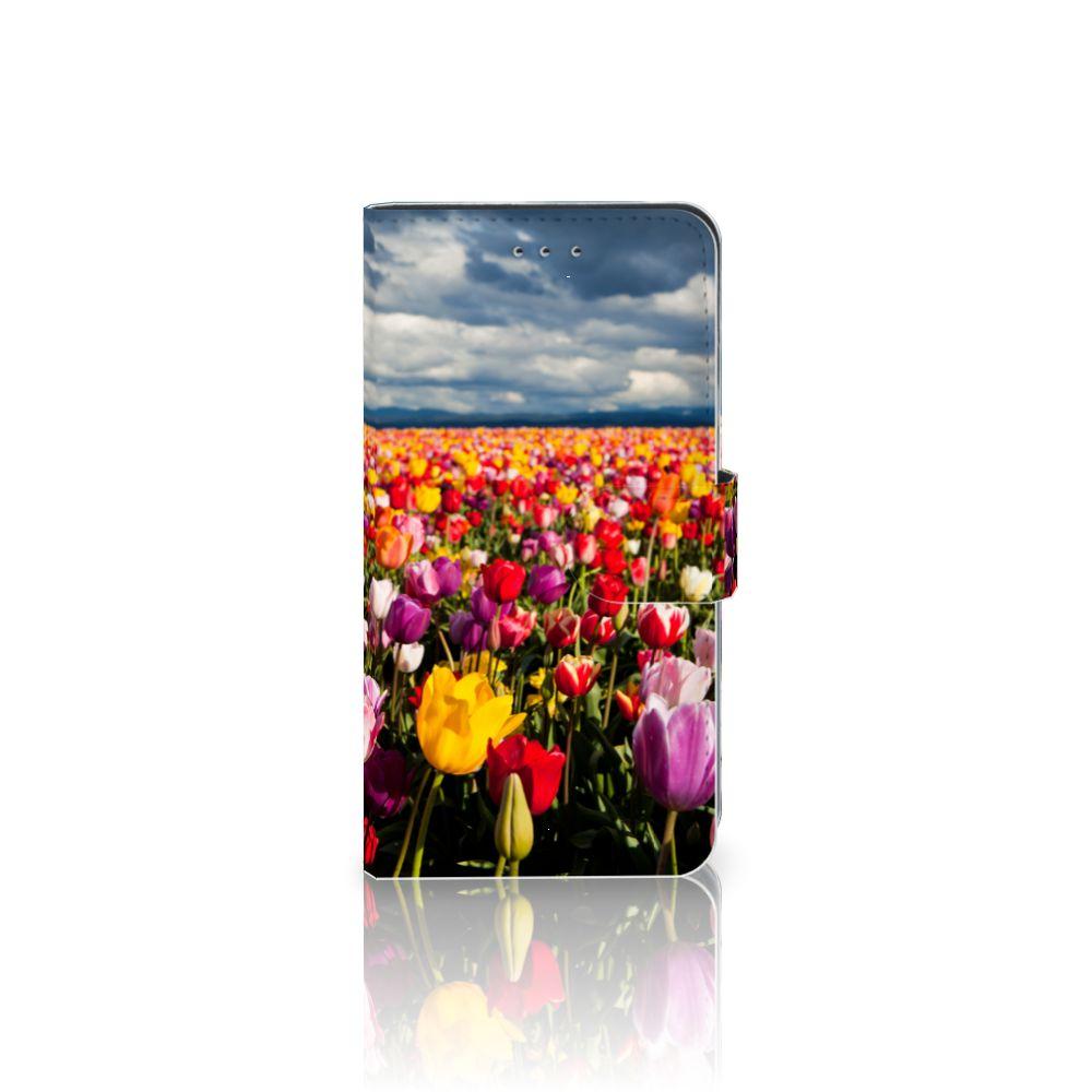 Samsung Galaxy J4 2018 Uniek Boekhoesje Tulpen