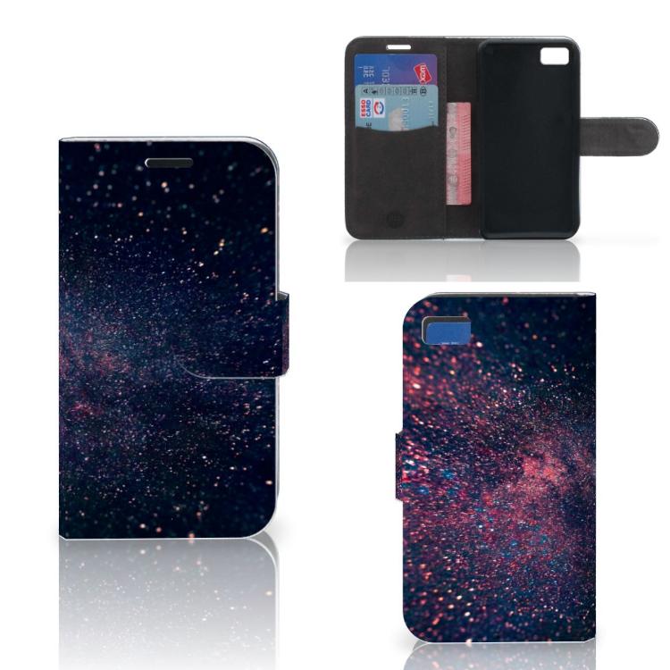 Blackberry Z10 Bookcase Stars