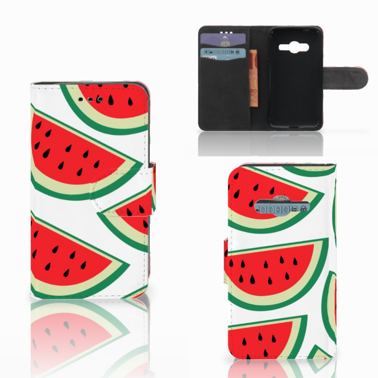 Samsung Galaxy Trend 2 Book Cover Watermelons