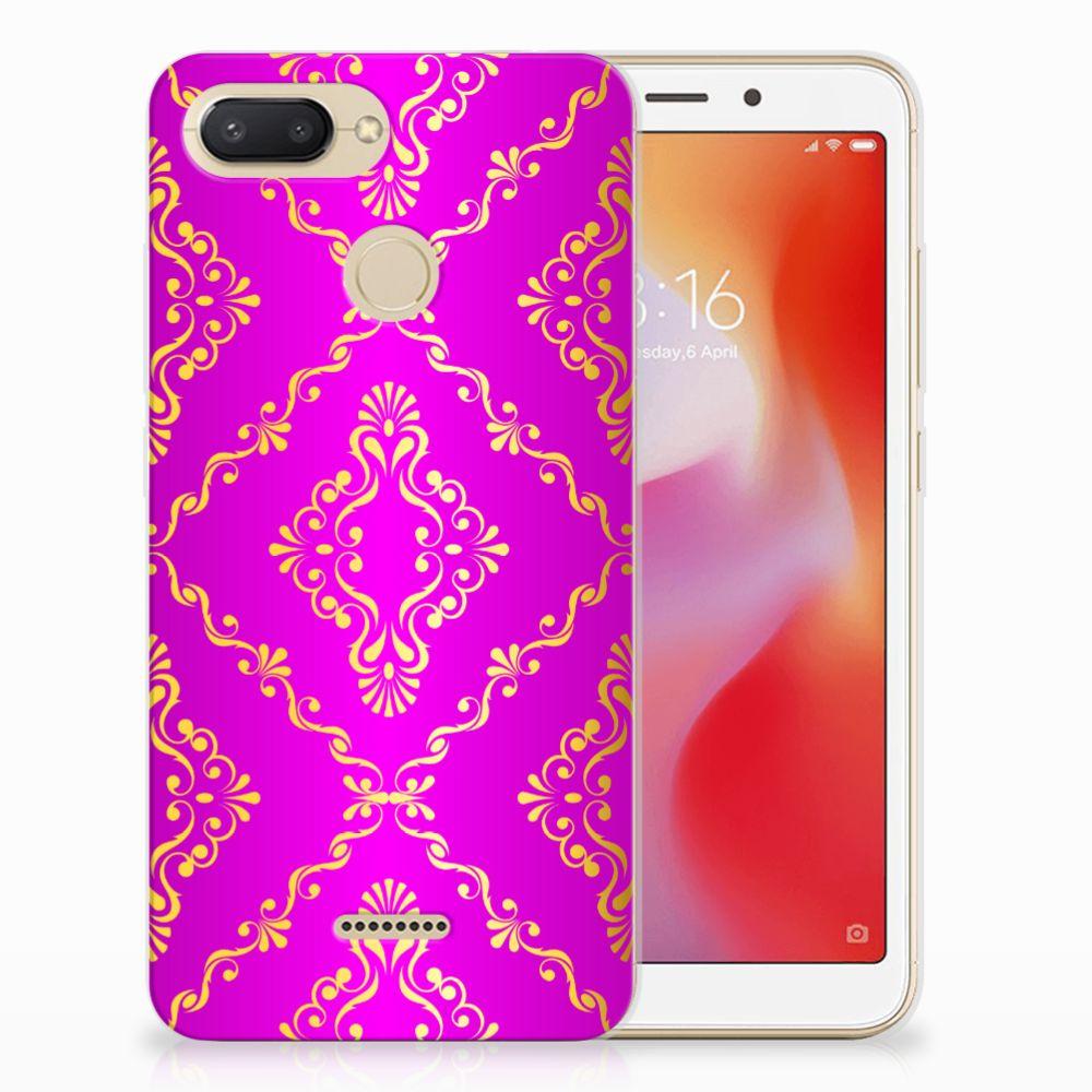 Siliconen Hoesje Xiaomi Redmi 6 Barok Roze