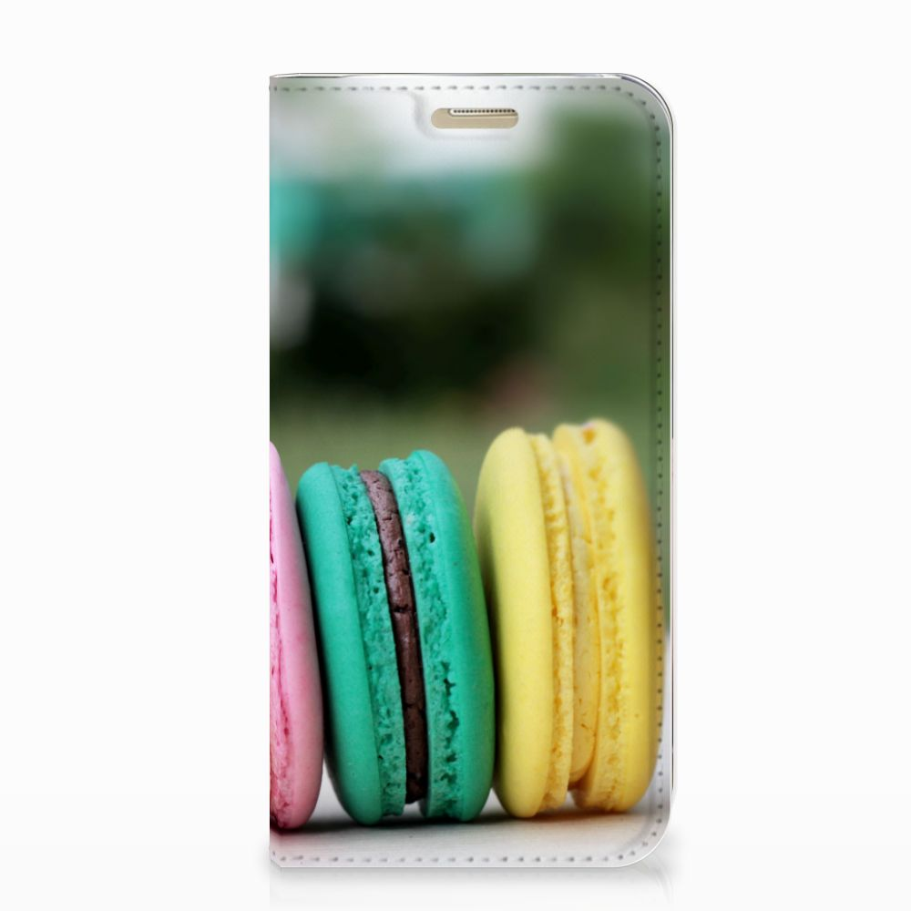 Samsung Galaxy A3 2017 Flip Style Cover Macarons