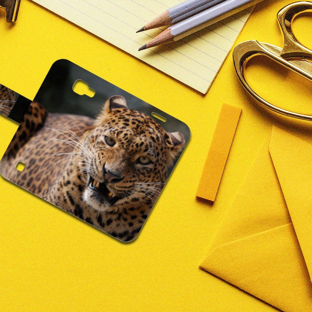 LG K4 Telefoonhoesje met Pasjes Luipaard