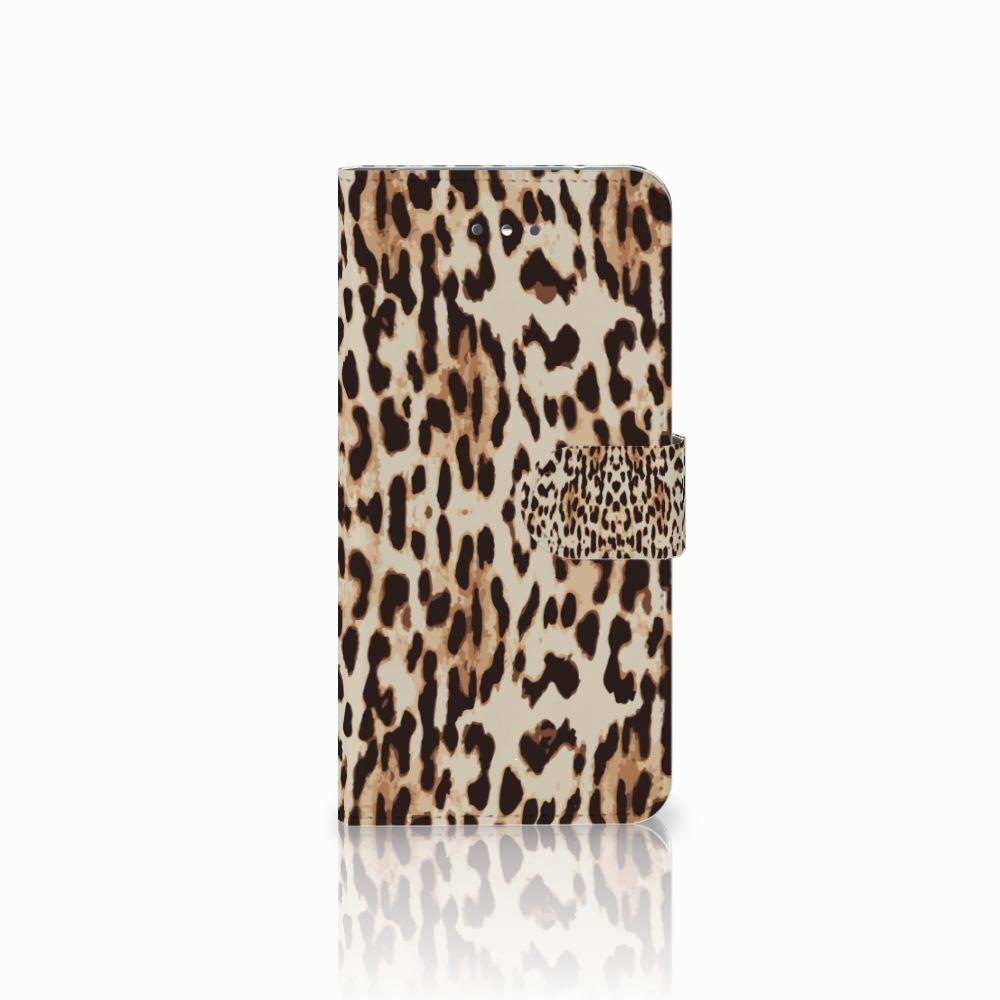LG Nexus 5X Uniek Boekhoesje Leopard