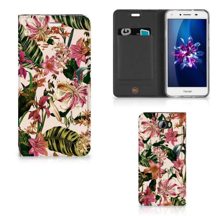 Huawei Y5 2 | Y6 Compact Smart Cover Flowers