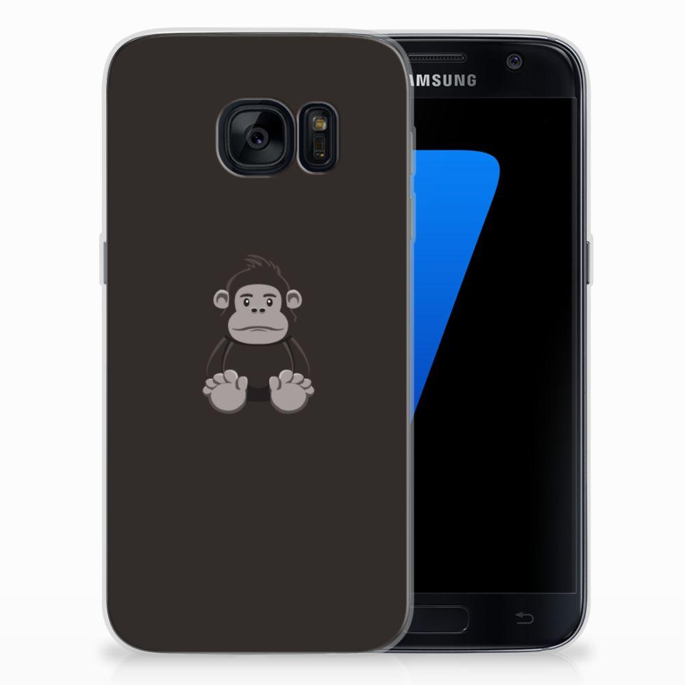 Samsung Galaxy S7 Telefoonhoesje met Naam Gorilla