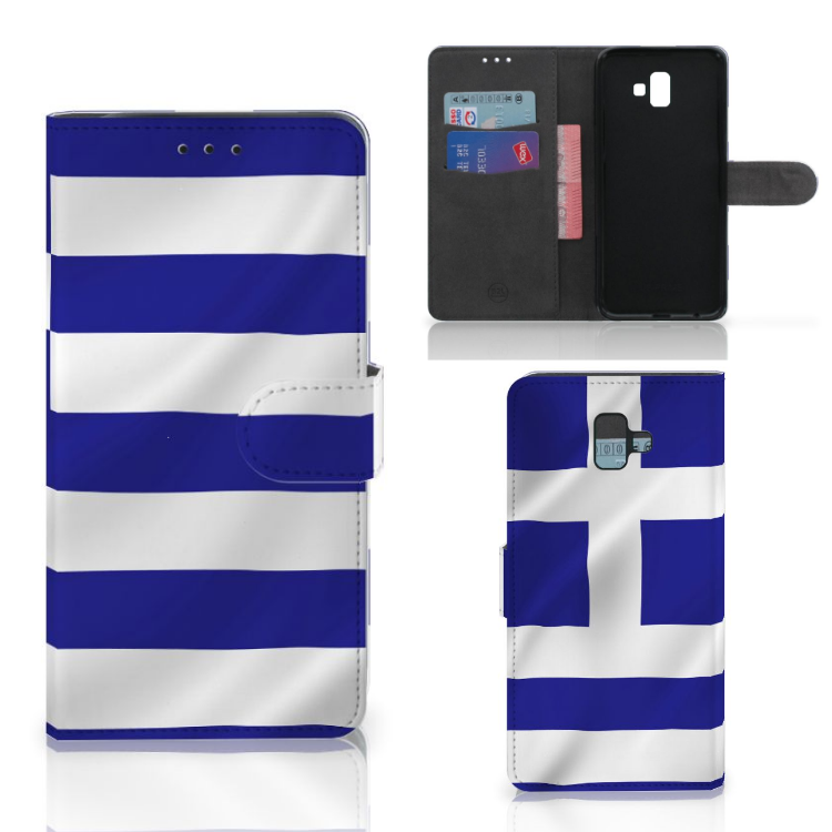 Samsung Galaxy J6 Plus (2018) Bookstyle Case Griekenland