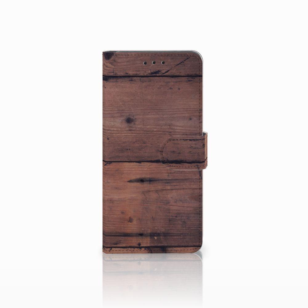 Huawei Mate 20 Pro Uniek Boekhoesje Old Wood