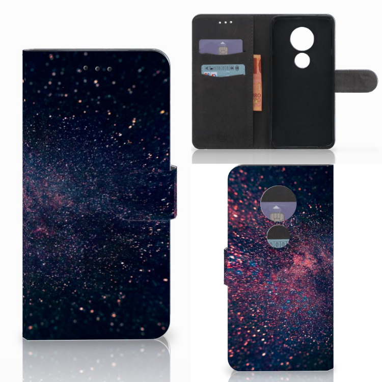 Motorola Moto E5 Play Bookcase Stars
