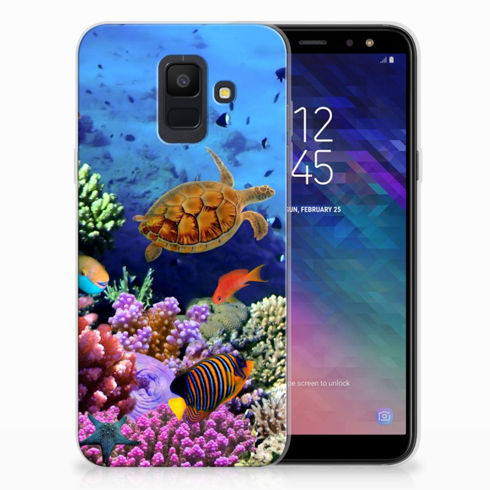 Samsung Galaxy A6 (2018) TPU Hoesje Design Vissen