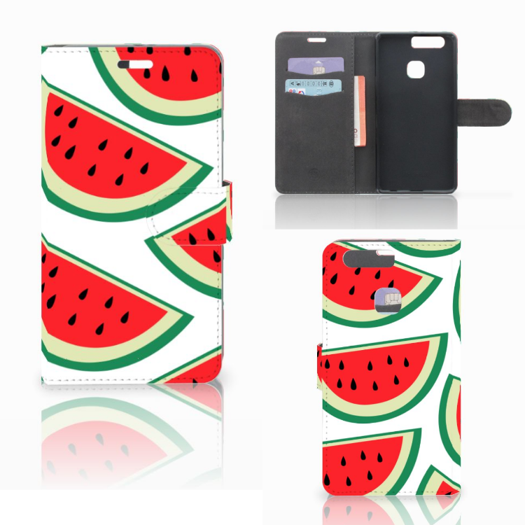 Huawei P9 Plus Book Cover Watermelons