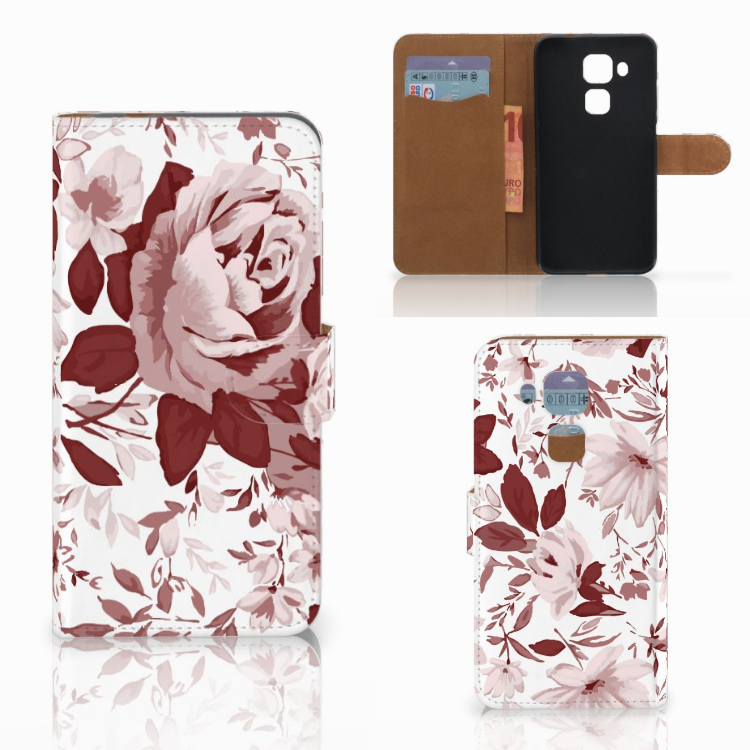 Hoesje Huawei Nova Plus Watercolor Flowers