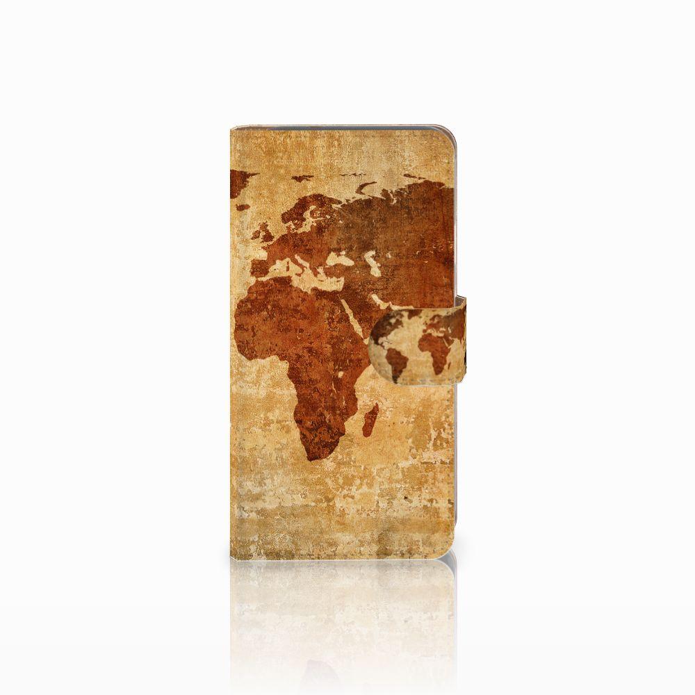 Google Pixel Flip Cover Wereldkaart