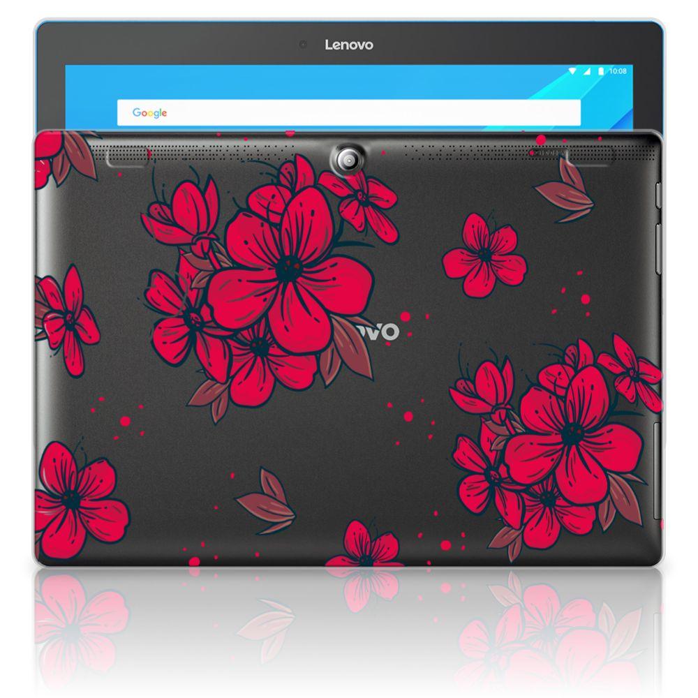 Lenovo Tab 10 | Tab 2 A10-30 Siliconen Hoesje Blossom Red