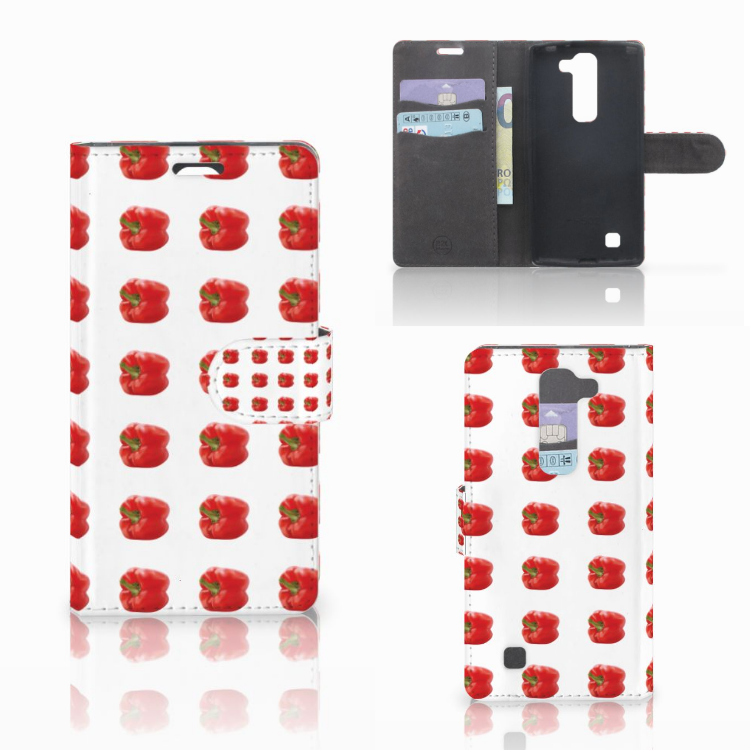 LG Magna | G4C Book Cover Paprika Red